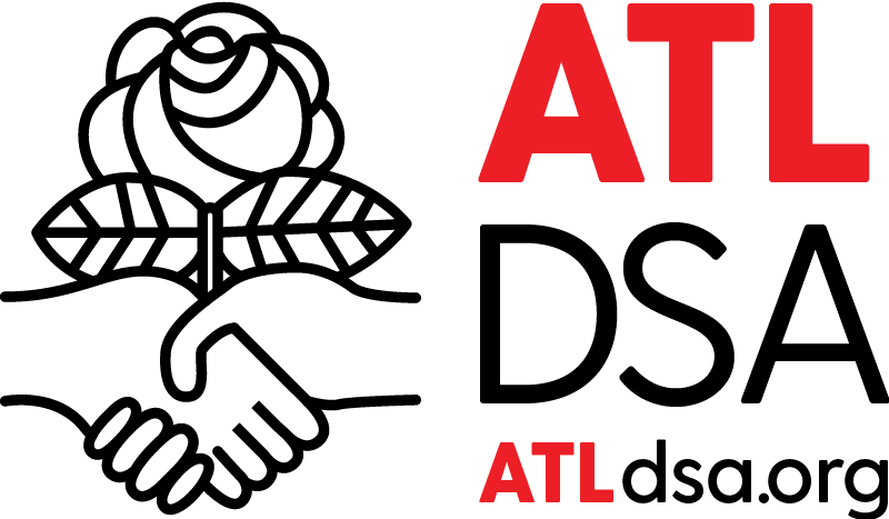 Image of Atlanta DSA logo and website URL: atldsa.org
